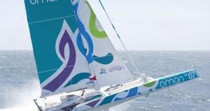"""ـ اليوم القارب """" مسندم """" يبدا مشواره في أكبر سباقات الابحار الشراعي """" روت دورام"""" المحيطي"""