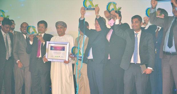 مجمع الابتكار مسقط يفوز بجائزة مراقبة المناخ فئة المشروع المستدام على مستوى الشرق الأوسط