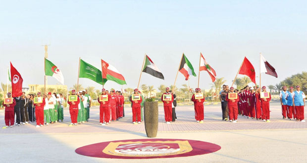 انطلاق البطولة العربية الحادية عشرة للرماية بقطر