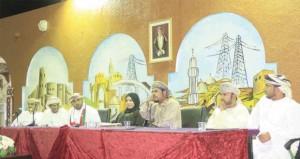 """أمسية شعرية وطنية احتفاء بالعيد الوطني الـ""""44″ المجيد"""