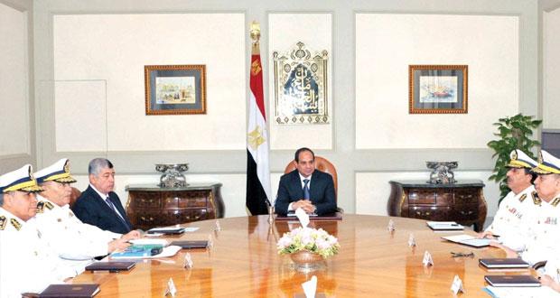 مصر: السيسي يترأس اجتماعًا للمجلس الأعلى للشرطة لتدارس الوضع الأمني