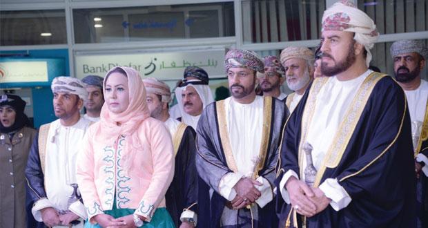 أسعد بن طارق يرعى افتتاح المهرجان الحرفي الأول بمركز عمان الدولي للمعارض