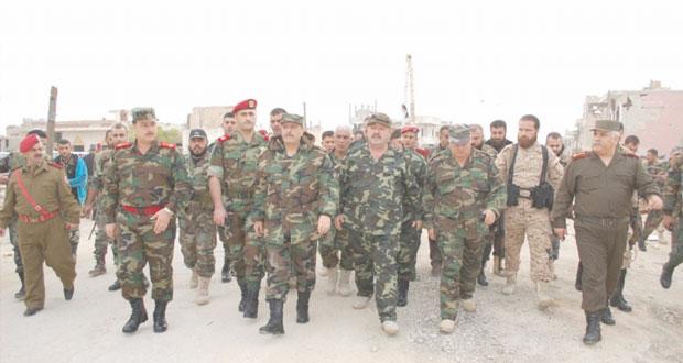 الجيش السوري يجدد التأكيد على المضي في اقتلاع جذور الإرهاب