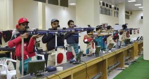 الفريق الوطني للرماية يبدأ معسكره التدريبي في قطر