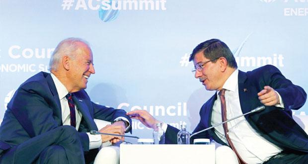 بايدن يريد اقناع أردوغان بالانضمام الى (تحالف حرب داعش)