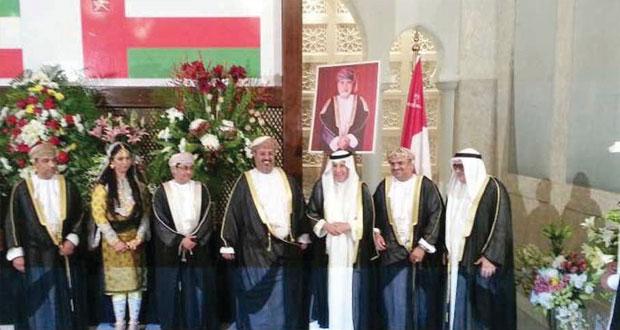 سفارة السلطنة بالكويت تحتفل بالعيد الوطني الـ /44/ المجيد