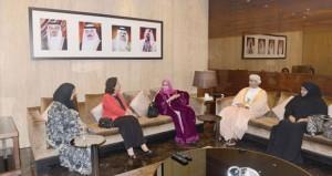 السلطنة تشارك في احتفالات يوم المرأة البحرينية بالمنامة