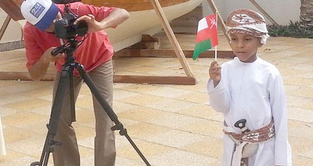 """عبدالله البطاشي ينهي تصوير أغنية وطنية جديدة بعنوان """"عظيم المجد"""" لعبدالمنعم الفارسي"""