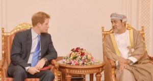 الأمير هاري يصل السلطنة في زيارة خاصة
