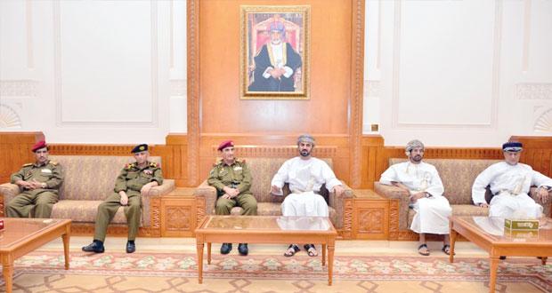 وفد الأكاديمية العسكرية العليا اليمني يزور مجلسي الدولة والشورى والادارة العامة للجمارك