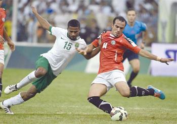 الأخضر السعودي يحصد النقطة السابعة ويترشح أول مجموعته الأولى