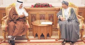 جلالة السلطان يتلقى دعوة لحضور قمة (التعاون) بالدوحة