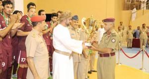 في ختام البطولة العسكرية الخليجية الأولى لخماسيات القدم المنتخب القطري يتوج باللقب ومنتخبنا العسكري وصيفا