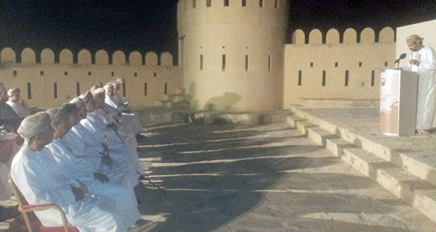 """الثلاثاء المقبل .. قلعة نخل تشهد افتتاح ندوة """"نخل عبر التاريخ"""""""