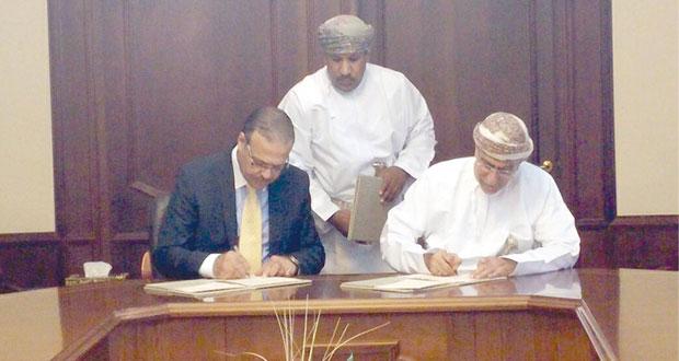 السلطنة توقع عقد تنفيذ مشـروع بحثي لاستغلال المياه المالحة في ري المحاصيل الزراعية