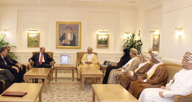 السلطنة والأردن تناقشان مجالات التشغيل والعمل والتدريب المهني والتعليم التقني