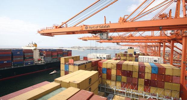 أكثر من 11 مليار ريال إجمالي الصادرات السلعية للسلطنة بنهاية يوليو الماضي