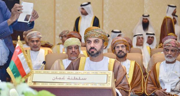 رؤساء المجالس التشريعية الخليجية يتوجهون بالحمد والثناء للاطمئنان على صحة جلالته