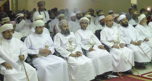ولاية بدية تحتفل بذكرى المولد النبوي الشريف