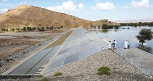 سدود القابل بمحافظة شمال الشرقية تساهم في حجز المياه لضمان استدامتها وتدفقها لفترات طويلة
