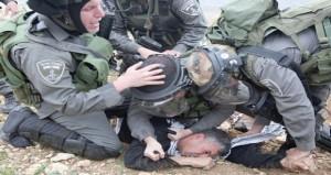 إصابة عشرات الفلسطينيين والمتضامنين الأجانب بقمع المسيرات المناهضة للاستيطان