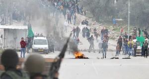 إصابات بالرصاص في قمع الاحتلال والمستوطنين للمسيرات السلمية