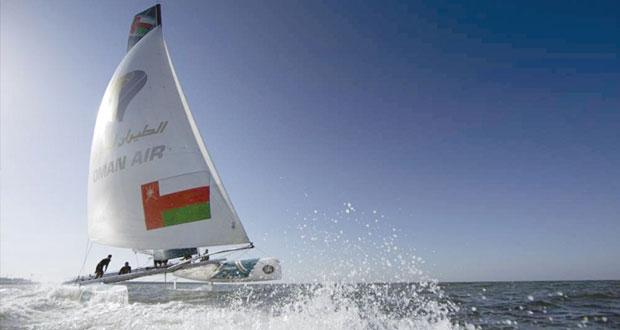 قارب عُمان للإبحار (الطيران العُماني) يستعد لجولة الإكستريم الختامية بأستراليا