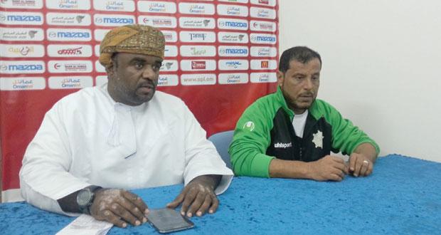 ابراهيم البلوشي : احترامنا للعروبة أعطانا ثقة في المباراة من البداية