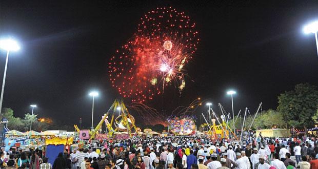 حديقة النسيم العامة بولاية السيب بحلة جديدة ومميزة بمهرجان مسقط 2015
