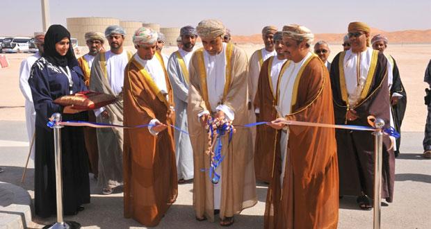 """الاحتفال بتدشين مشروع محطة معالجة الغاز بـ """"أبو الطبول"""" بتكلفة إجمالية تقدر بـ 1.3 مليار دولار"""