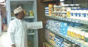 بلدية عبري تكثف الرقابة على المحلات المهنية والصحية