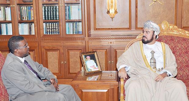 اسعد بن طارق يستقبل والي العاصمة جيبوتي