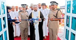 شرطة عمان السلطانية تحتفل بافتتاح مبنى خدمات الشرطة بالسويق