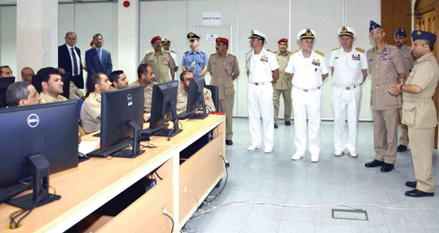 رئيس أركان القوات المسلحة الإيطالية يزور كلية القيادة والأركان
