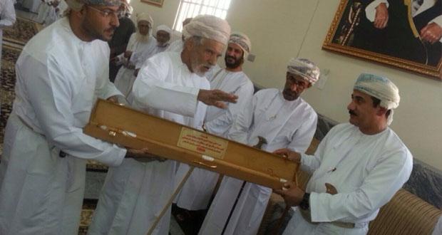 وزير المكتب السلطاني يفتتح المجلس العام بنيابة الجبل الأخضر