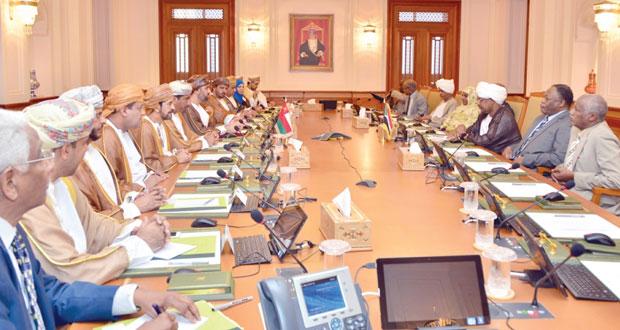 جلسـة مباحثـات بين السلطنة والسودان في مجال الشورى