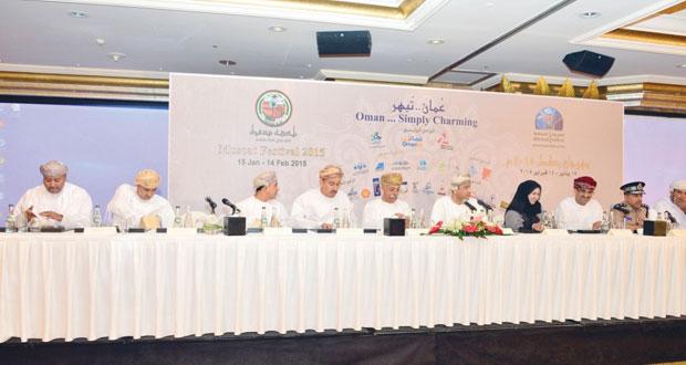 المؤتمر الصحفي للإعلان عن فعاليات مهرجان مسقط 2015م