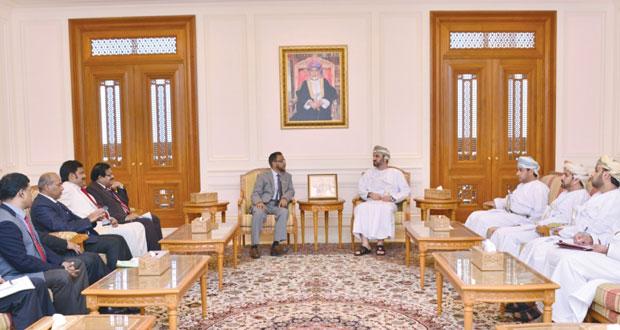 رئيس مجلس الشورى يستقبل الوفد البرلماني البجلاديشي