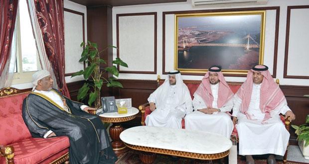 بحث التعاون القضائي بين السلطنة والسعودية