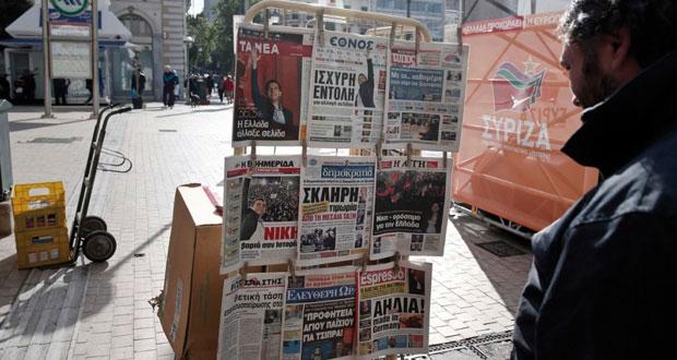 أوروبا تبدي الحذر من صعود اليسار في اليونان وتطالب بالالتزام بمقررات الخروج من الأزمة