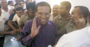 سريلانكا: فوز سيريسنا على الرئيس الحالي في الانتخابات الرئاسية