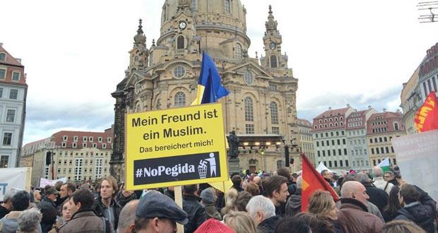 ألمانيا: عشرات الآلاف يتظاهرون ضد حركات اليمين المتطرف في معقلها