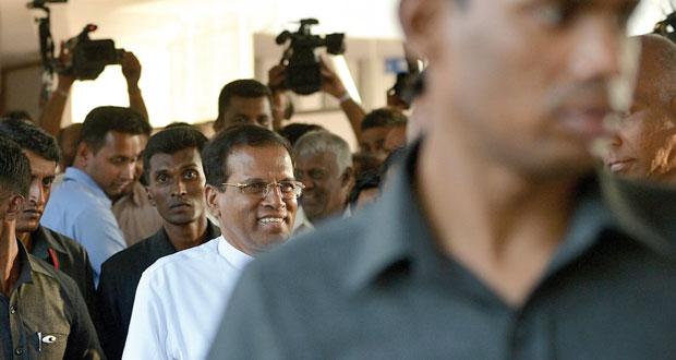 سريلانكا: الرئيس السابق يتخلى عن رئاسة حزبه بعد الهزيمة