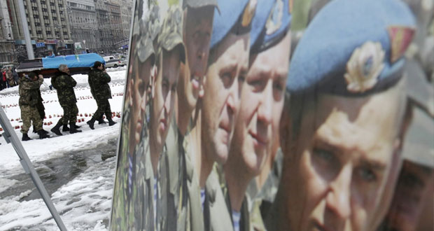مقتل 5 مدنيين بقصف على شرق أوكرانيا