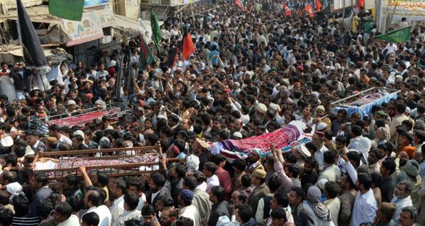 باكستان: عشرات القتلى بهجوم طائفي في (السند)