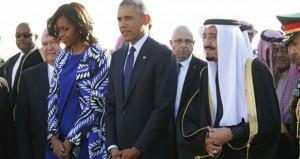 السعودية: أوباما في الرياض لتقديم التعازي وبحث القضايا الإقليمية