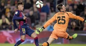 برشلونة يستعيد توازنه بخماسية في مرمى التشي