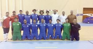 منتخبنا الوطني لكرة الصالات يستعد لكأس الخليج بالمنامة