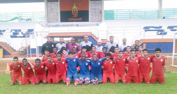 منتخب ناشئي القدم يختتم معسكره الداخلي