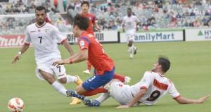 كالعادة في الدقائق الصعبة ..!! الأحمر العمانى يخسر بهدف ضربة البداية أمام شمشون كوريا